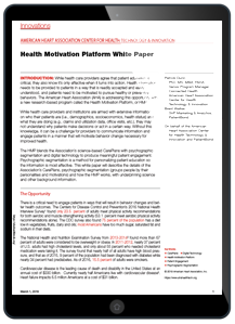 Health Motivation Whitepaper Tablet