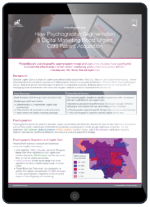Patient Acquisition Case Study - Tablet