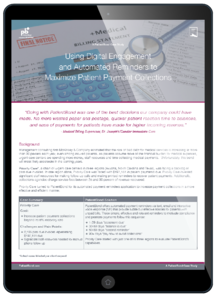 Patient Payments Case Study Tablet
